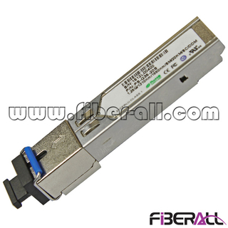 FA-TCS12S35-20D & FA-TCS12S53-20D SC Type Single Fiber SFP Optic Transceiver 1.25G 20KM WDM 1310nm/1550nm DDM