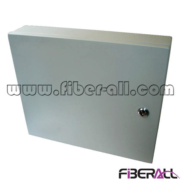 FA-FDWOM24GS 24 Fibers Waterproof Wall Mounted Fiber Optic Distribution Box For Outdoor Use