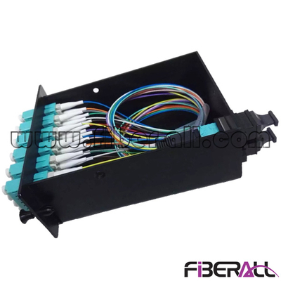 FA-FDR1MD96M Drawer Type Rack Mounted Fiber Patch Panel with MPO Cassette and MPO-LC Patch Cord