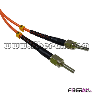 FAPC-APAPM2M Dual Fiber SMA-SMA Optical Patch Cable with Metal Ferrule and 3.0mm Multimode Cable
