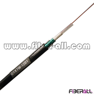 FA-OC-GYXTW12, 12 Fibers GYXTW Central Loose Tube Fiber Optical Cable with Two Parallel Strengthen Wires