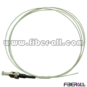 FAPG-TPS01, Simplex Indoor Optical Fiber Pigtail, ST/PC, Single mode 0.9mm, White