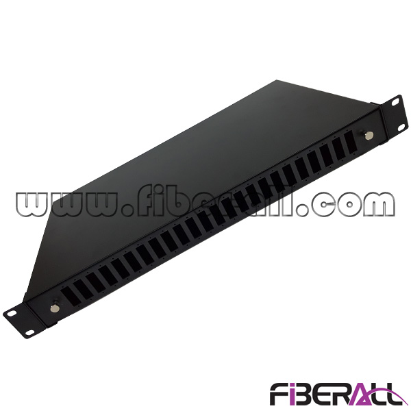 FA-FDR1MS48B-SD 48 Fibers Slide and Drawer Type Rack Mounted Optical Patch Panel for SC Duplex Adapter
