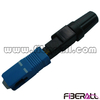 FA-FXFCSPS1, SC/PC Field Installation Pre-polished FTTH Fast Connector for Optical Fiber FTTH Drop Cable