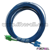 FAPC-SASPS2B SC/APC-SC/PC SM Duplex 2.0mm Fiber Optic Jumper with Blue Cable