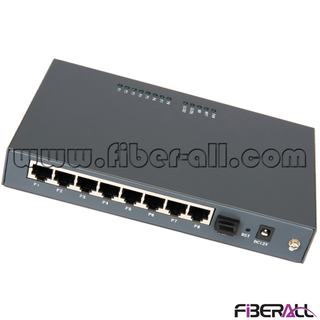 FA-EONU8008N Data Type EPON ONU with One PON Port 8x10/100M Ports for Fiber to the MDU