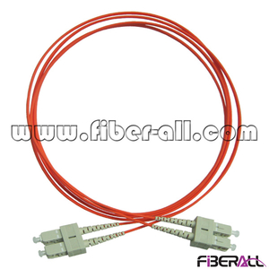 FAPC-SPSPM2R Multimode Fiber Optic Patch Cord SC To SC with Number Mark Ring
