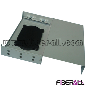 FA-FDTWFM06G Mini Type Wall Mounted Fiber Terminal Box 6 Cores for ST Adapter