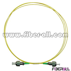 FAPC-FAFAS1, FC/APC-FC/APC, Single Mode Optical Fiber Patch Cord, Simplex, 0.9mm, Yellow Jacket