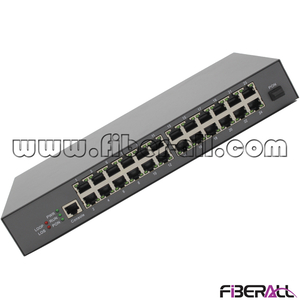 FA-EONU8024X MDU EPON ONU with 24 10/100M Ports for FTTB Fiber To The Building (Metal Housing)