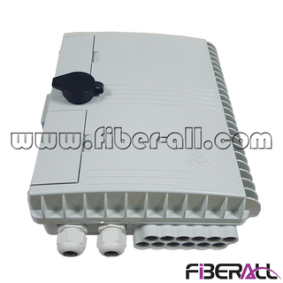 FA-PLCD1×8SP,Pole Or Wall Mounted Fiber Distribution Box For SC/UPC 1x8 LGX Type PLC Splitter