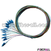 FAPG-LPS12, 12 Colors Fiber Optic Pigtail, LC/PC, Single Mode,0.9mm