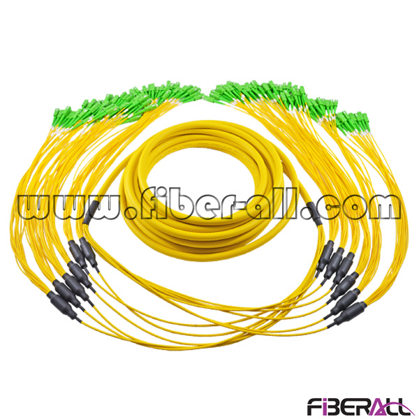 FA-BPC-SASAS72 Unit Breakout Fiber Optic Patch Cord SC/APC-SC/APC 72 Fibers Single Mode