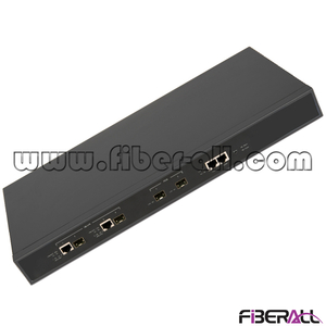 "FA-EOLT8120B 1U 19"" Rack Mounted EPON OLT Optical Line Terminal with 2 PON Ports for Small Office"