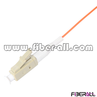 FAPG-LPM01, Multimode LC Fiber Optical Pigtail Simplex 0.9mm Tight Buffer Orange