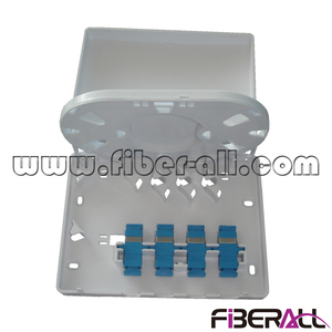 FA-FXTB0104S FTTH Fiber to the Desktop Optical Terminal Box with 4 SC Ports
