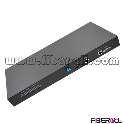 FA-EOLT8110 Layer2 1U 19 Inch Rack Mounted EPON OLT Optical Line Terminal with One 1.25G PON Port