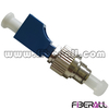 FA-AD-FPMLPF,Hybrid Fiber Optic Adapter FC/PC Male To LC/PC Female Metal/Plastic with Ferrule