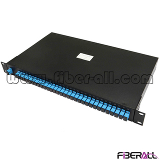 FA-PLCR1×32SP, Preloaded Rack Mounted Fiber Optical PLC Splitter, 1×32, With SC/PC Connector