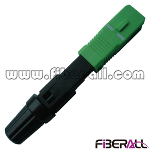 FA-FXFCSAS1, SC/APC Pre-embedded Fiber Optic FTTH Fast Connector for Drop Cable