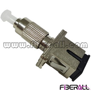 FA-AD-FPMSPF,Conversion Hybrid Fiber Optical Adapter FC/PC Male To SC/PC Female Metal