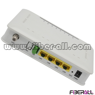 FA-GONU8004ZWF GPON Optical Network Unit ONU with 4GE+WIFI+CATV ( WiFi or CATV is optional)